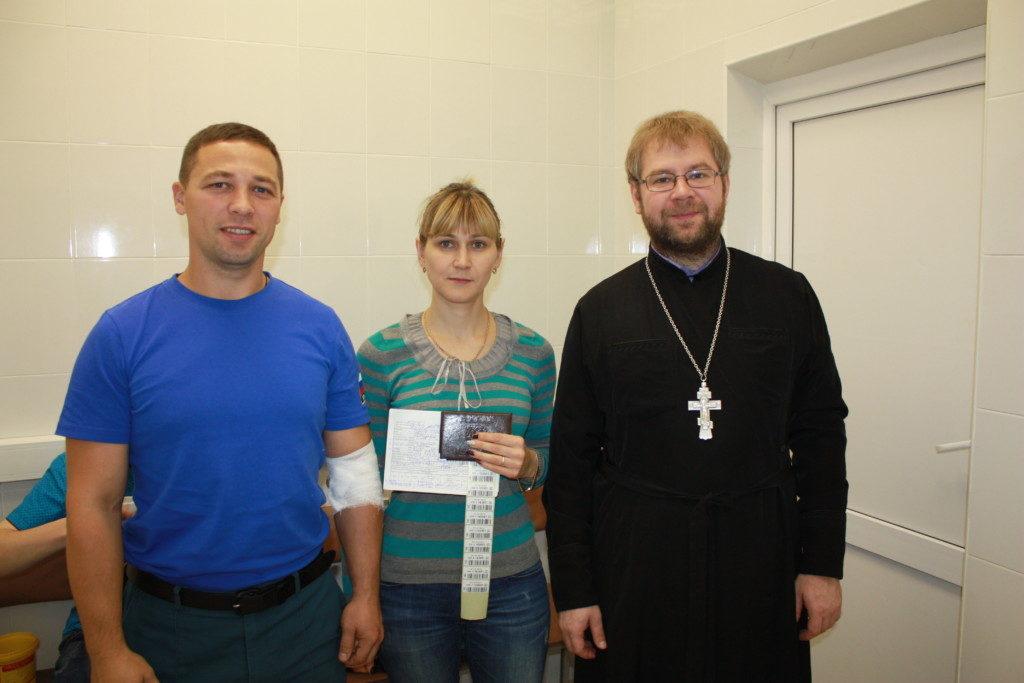 Донорская акция в Бронницком благочинии