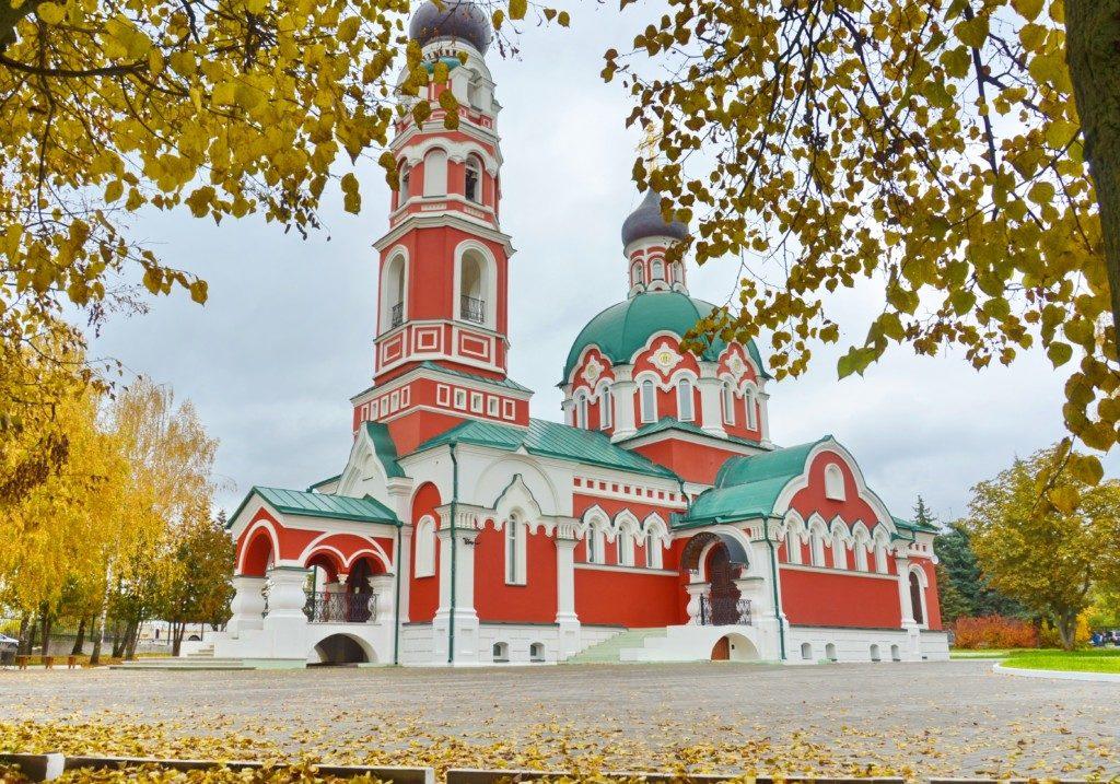Престольный праздник в Константиново