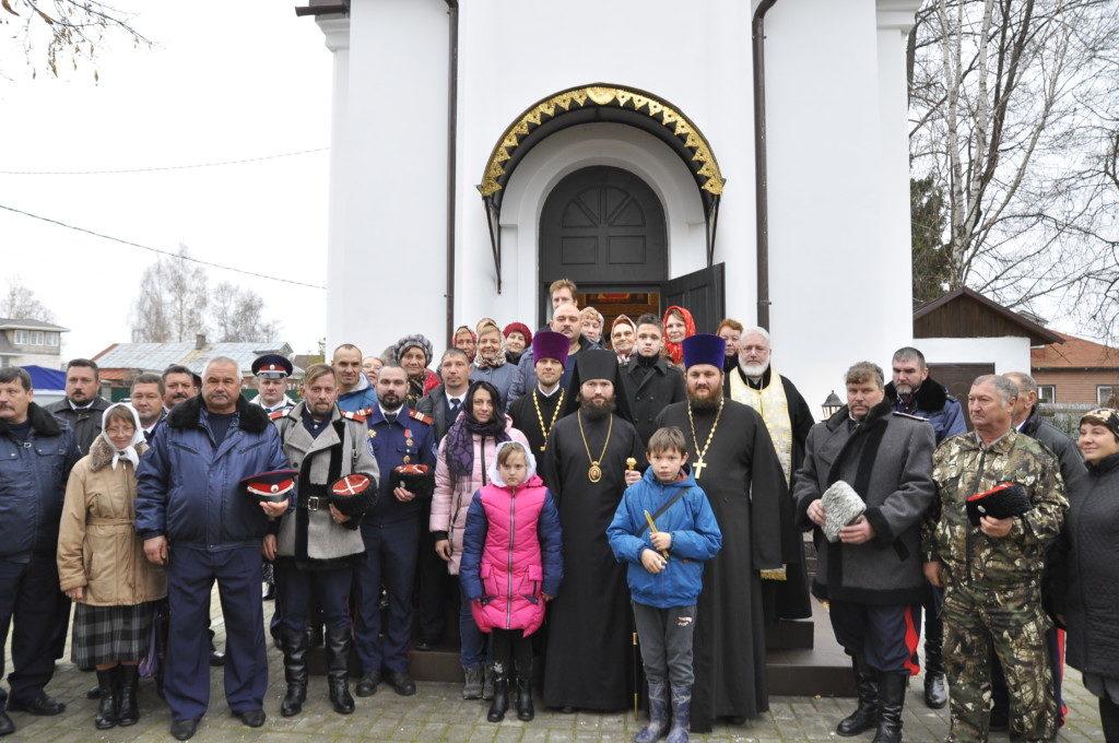 Великое освящение Иоанновского храма села Федино