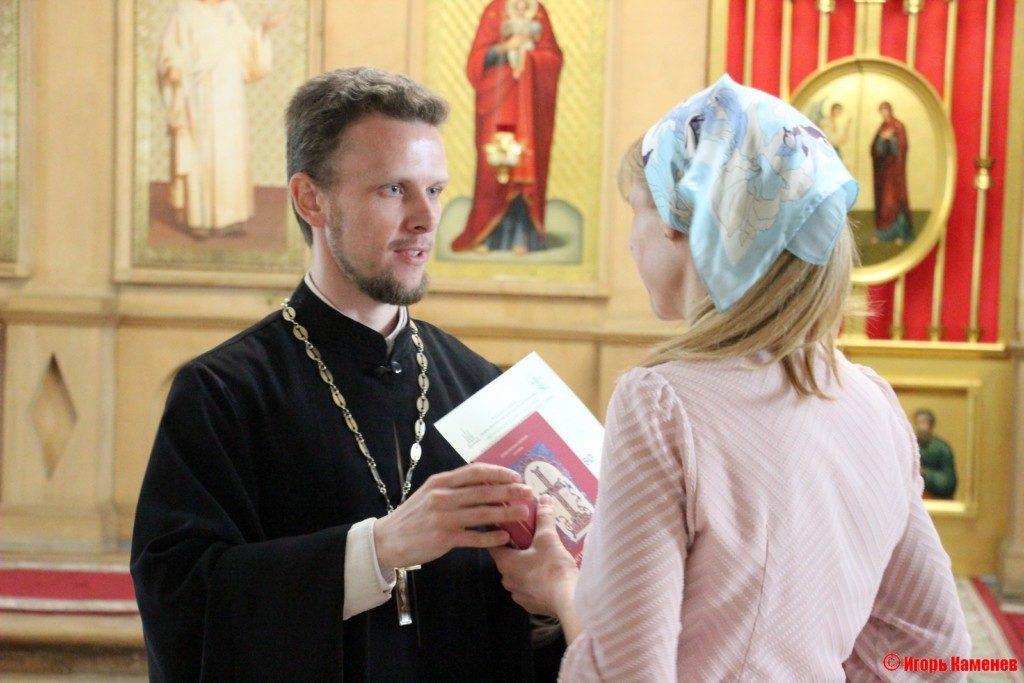 Выпуск слушателей богословских курсов в Бронницах