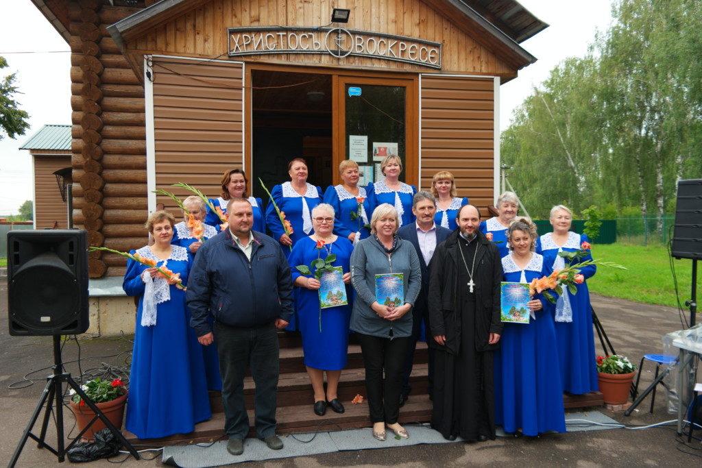 Праздничная Божественная литургия в Денежниково