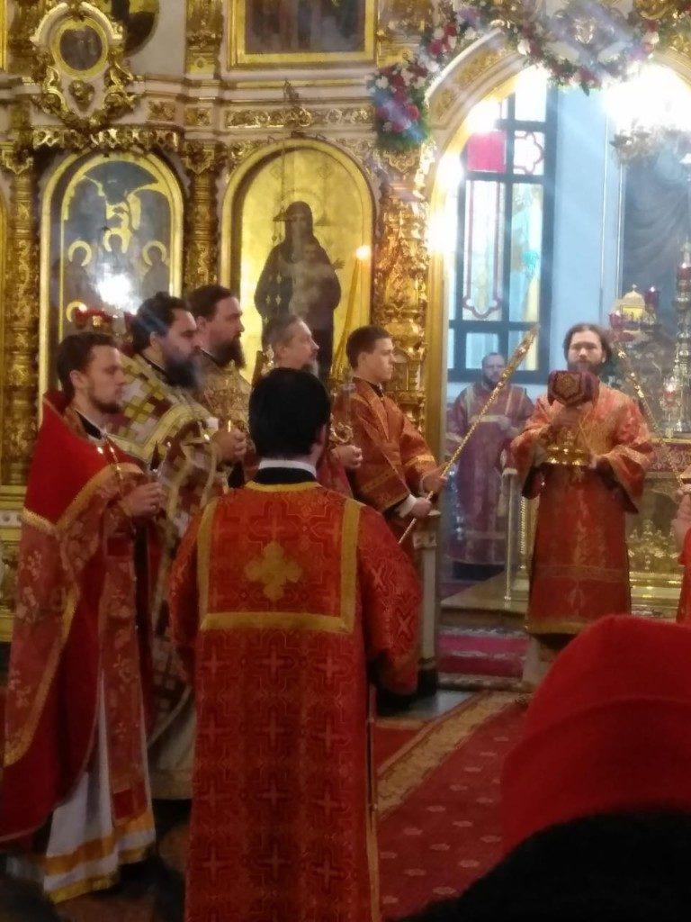 Празднование новомучеников и исповедников Орехово-Зуевских
