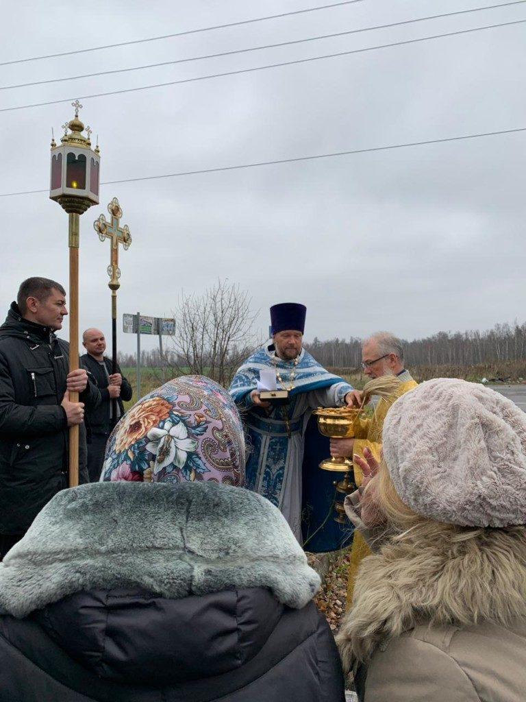 Крестный ход в Вишняково