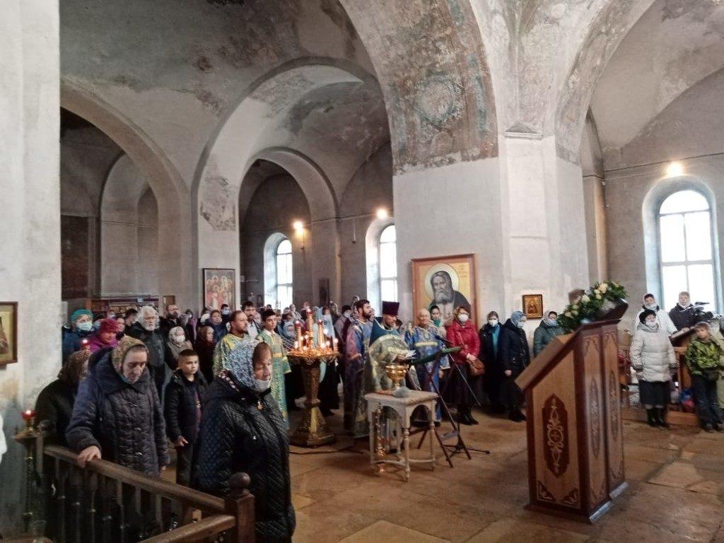 Праздничное богослужение в честь Иерусалимской Иконы Божией Матери