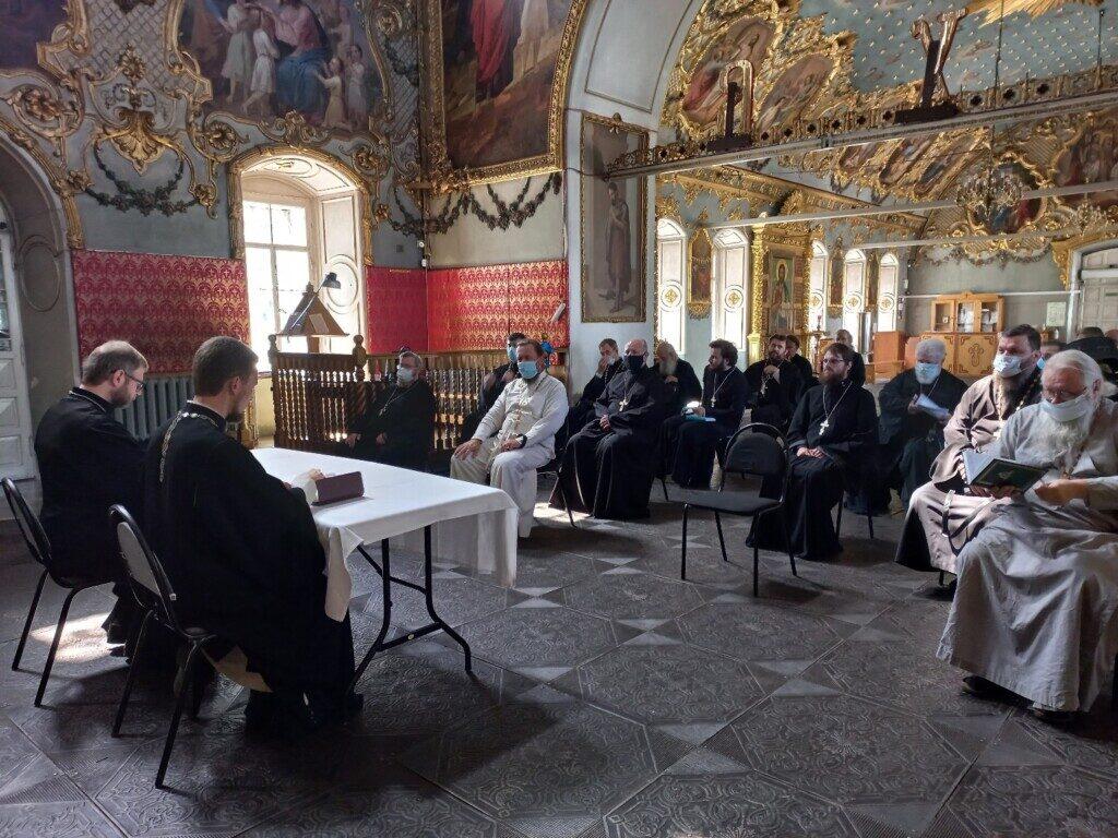 Братское совещание духовенства Бронницкого благочиния