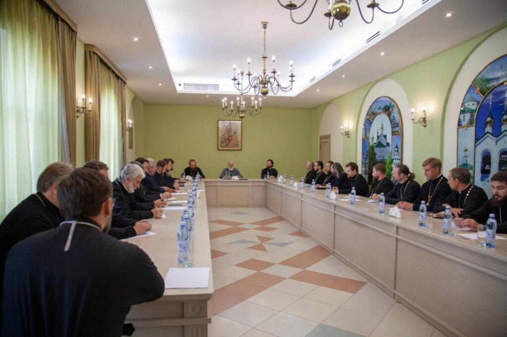 Разделение благочиний Коломенской Епархии